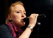 德国歌手 图库摄影