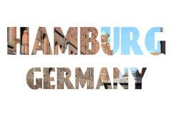 德国汉堡 库存照片