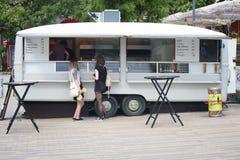德国沙拉三明治快餐 免版税库存照片