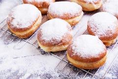 德国油炸圈饼-柏林人 免版税库存图片
