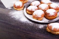 德国油炸圈饼-柏林人 免版税图库摄影