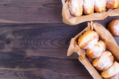 德国油炸圈饼-柏林人 免版税库存照片