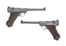 德国海军手枪 库存图片