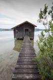 德国湖 库存照片