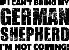 德国牧羊犬口号 皇族释放例证
