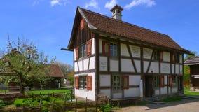 德国的兹瓦本地方农厂博物馆, Illerbeuren,上部施瓦本行政区,德国 影视素材