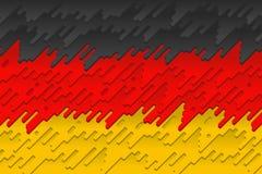 德国的国旗 库存照片