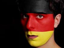 德国的旗子 免版税库存图片