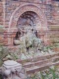 德国的纪念碑 图林根州 kyffhäuser Barbarosa 库存图片