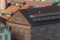 德国砖工厂 免版税图库摄影