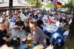 德国美国节日 库存照片