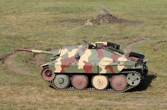 德国老坦克 免版税图库摄影