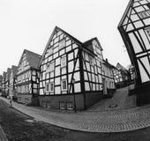 德国老城镇 免版税图库摄影