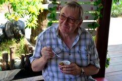德国老食人的冰淇凌 免版税库存照片