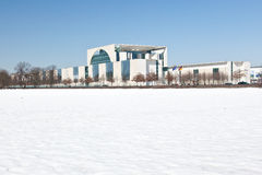 德国联邦大臣官邸在柏林 免版税库存照片