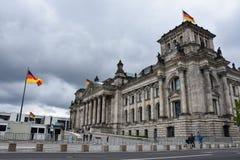 德国联邦议会的照片 免版税库存图片