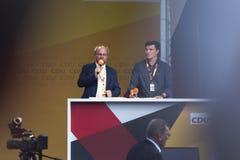 德国联邦议会Volkmar克伦的成员在锡根德国 图库摄影