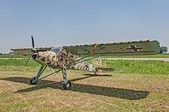德国航空器Fieseler Fi 156 Storch 图库摄影