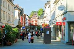 德国视图的兰河畔林堡市 免版税库存照片