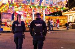 德国警察 免版税图库摄影
