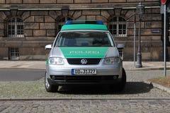 德国警察VW 库存图片