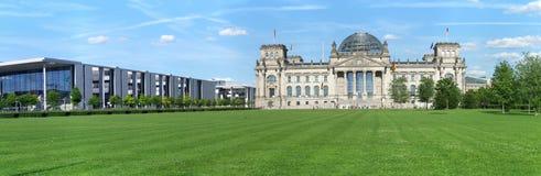 德国议会大厦在柏林 免版税图库摄影