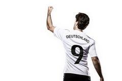 德国足球运动员 免版税库存照片