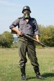 德国重立法的战士ww2 免版税库存图片