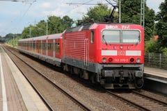 德国铁路火车 免版税库存照片