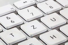 德国键盘 免版税库存图片