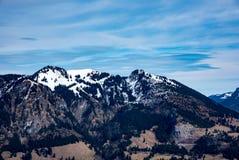 德国阿尔卑斯的惊人的看法 库存图片