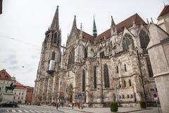 德国雷根斯堡 免版税库存图片