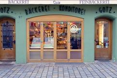 德国面包店 免版税库存图片