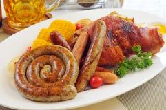 德国香肠 免版税库存图片