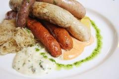 德国香肠 免版税图库摄影