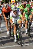 德国骑自行车者西蒙Geschke 免版税图库摄影
