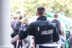 德国黑森警察 免版税库存照片