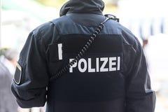 德国黑森警察 免版税图库摄影
