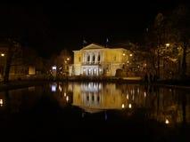德国,哈雷der萨勒河歌剧院 库存图片