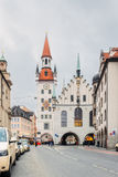 德国,慕尼黑 大厅老城镇 免版税库存图片