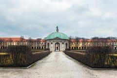 德国,慕尼黑 戴安娜寺庙 库存照片
