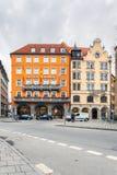 德国,慕尼黑 旅馆Torbrau 图库摄影