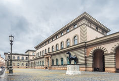德国,慕尼黑 说明档案 免版税库存图片