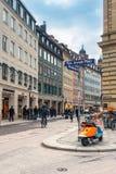 德国,慕尼黑 Residenzstrasse 免版税库存照片