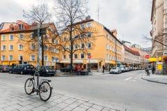 德国,慕尼黑 Vestenrider Strasse 免版税库存照片