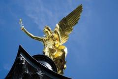 德国,巴伐利亚,慕尼黑, Friedensengel 免版税库存图片
