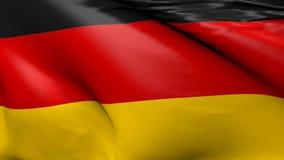 德国, 3d的旗子动画 影视素材