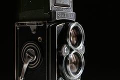 德国, Rolleiflex 2月2017年,老照相机120格式 库存图片