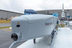 德国/瑞典空中发射的寻呼台金牛座KEPD 350 免版税图库摄影