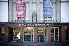 德国建筑学博物馆法兰克福 库存照片